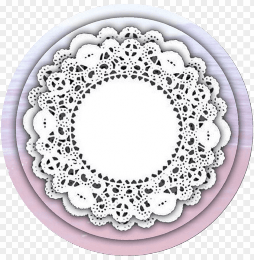 free PNG lace  freeon mbtskoudsalg icon - icon circle picsart png - Free PNG Images PNG images transparent