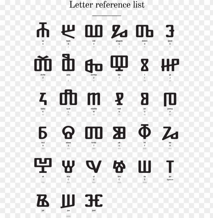 free PNG lagolitic alphabet v2, with two golden letters - glagolitic n alphabet letter by letter transparent PNG image with transparent background PNG images transparent