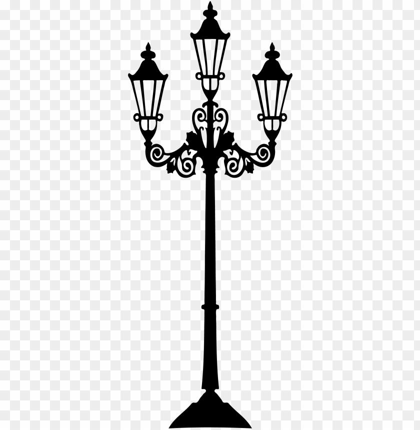free PNG lamp post clipart old style - topo de bolo paris para imprimir PNG image with transparent background PNG images transparent