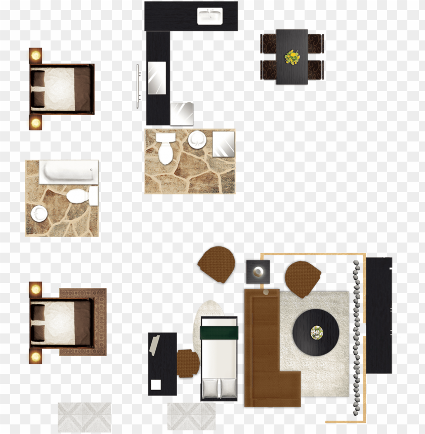 free PNG lan house painter and - living area furniture plan PNG image with transparent background PNG images transparent