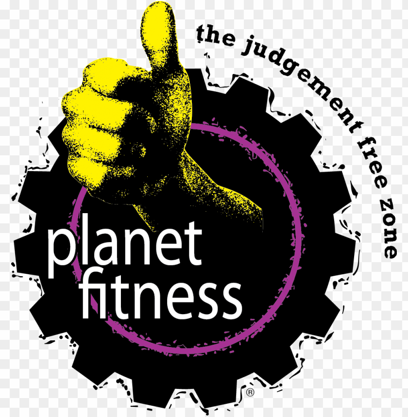Lanet Fitness Logo Planet Fitness Png Image With Transparent