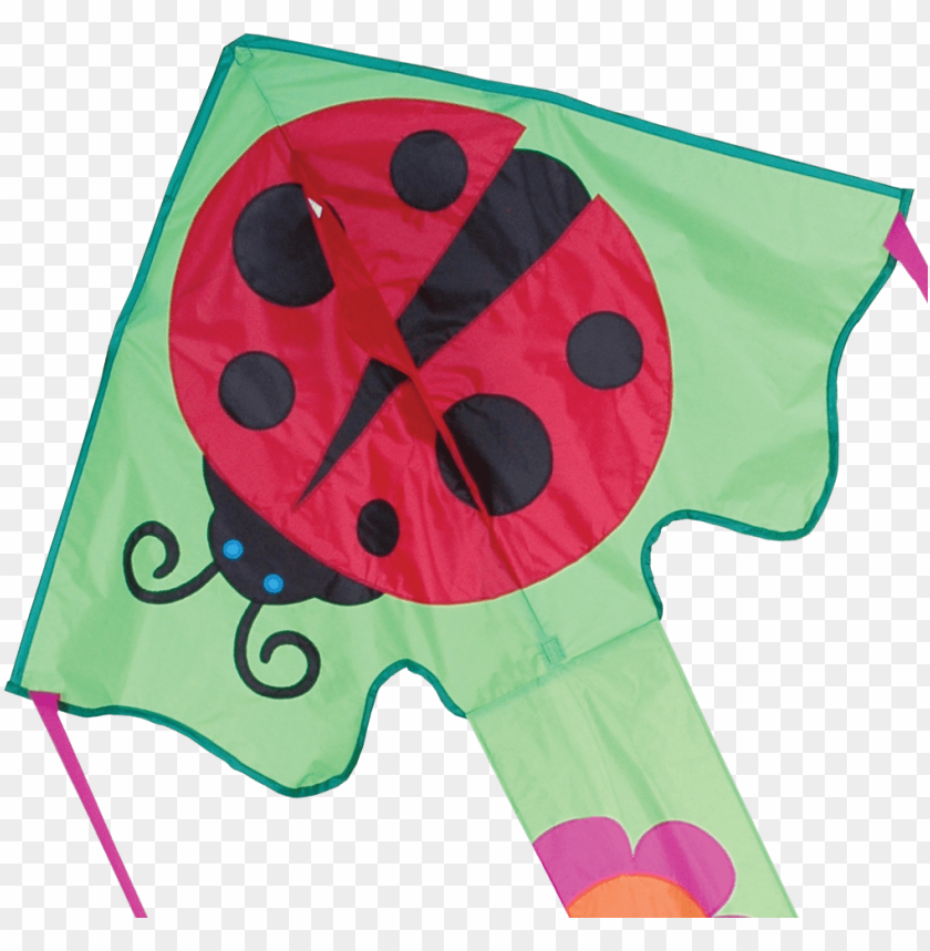 large easy flyer kite - 120cm ms ladybug - large easy flyer kite - best kite PNG image with transparent background@toppng.com