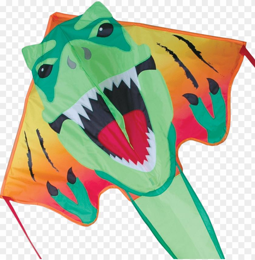 free PNG large easy flyer kite - premier kites & designs easy flyer kite, t-rex, PNG image with transparent background PNG images transparent