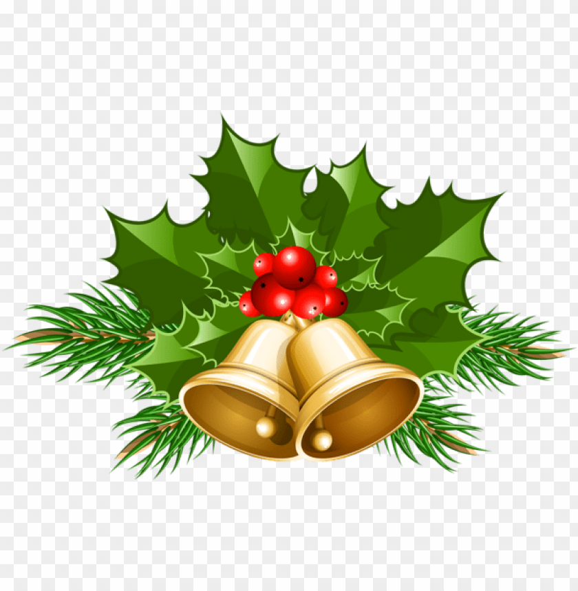 free PNG large transparent christmas bells PNG Images PNG images transparent