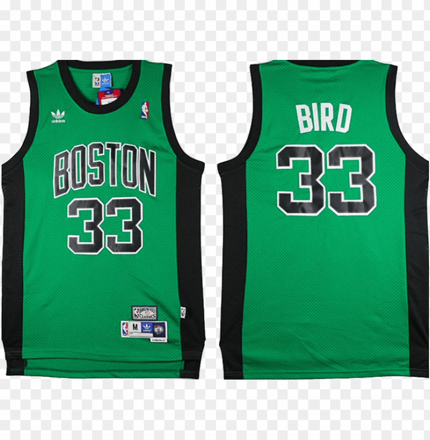 Larry Bird Green With Black Png Image With Transparent Background