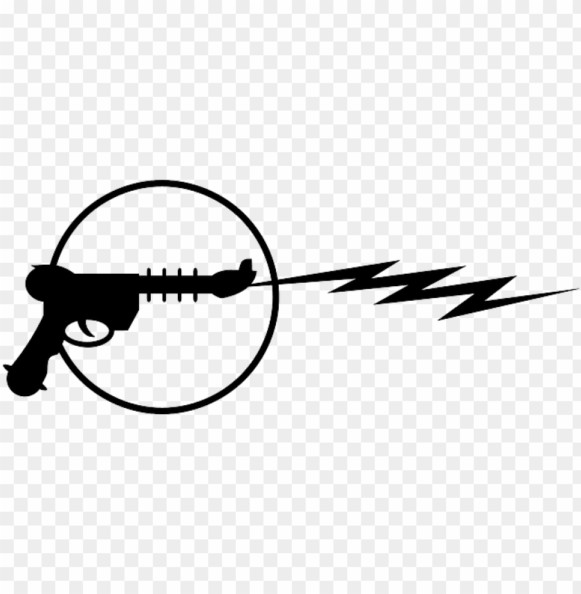 free PNG laser tag gun silhouette clipart - ray gun clip art PNG image with transparent background PNG images transparent