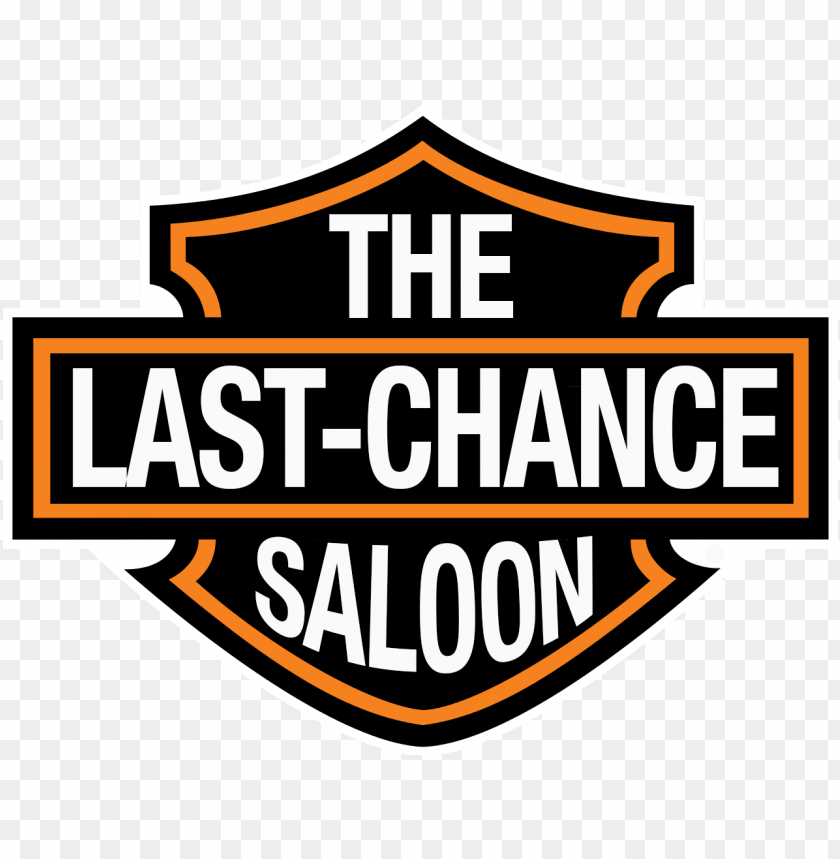 free PNG last chance saloon walhalla, sc - logo harley davidson editable PNG image with transparent background PNG images transparent