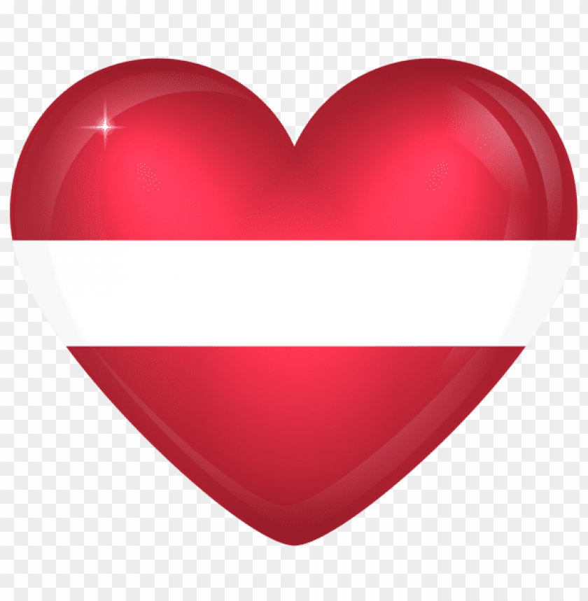 free PNG Download latvia large heart flag clipart png photo   PNG images transparent