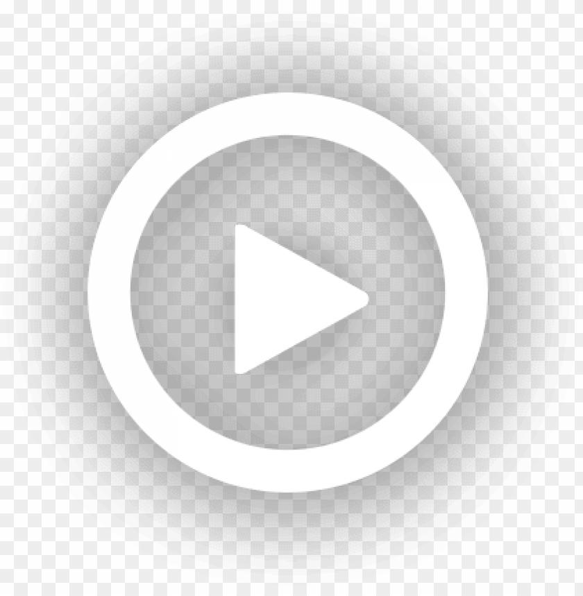 free PNG lay button overlay png - white video play butto PNG image with transparent background PNG images transparent
