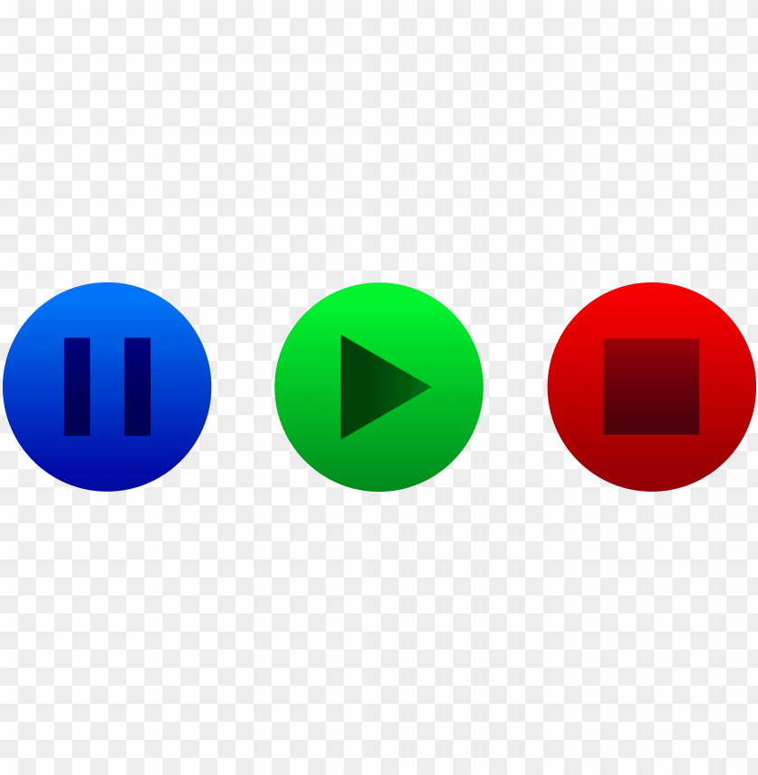 free PNG lay pause button png - play and stop butto PNG image with transparent background PNG images transparent