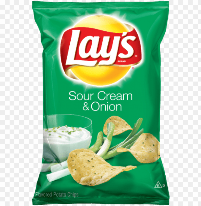 free PNG lays sour cream onion - frito lay lay's sour cream & onion potato chips PNG image with transparent background PNG images transparent
