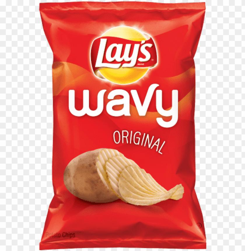 free PNG lays wavy original - lay's wavy original potato chips - 10.5 oz ba PNG image with transparent background PNG images transparent
