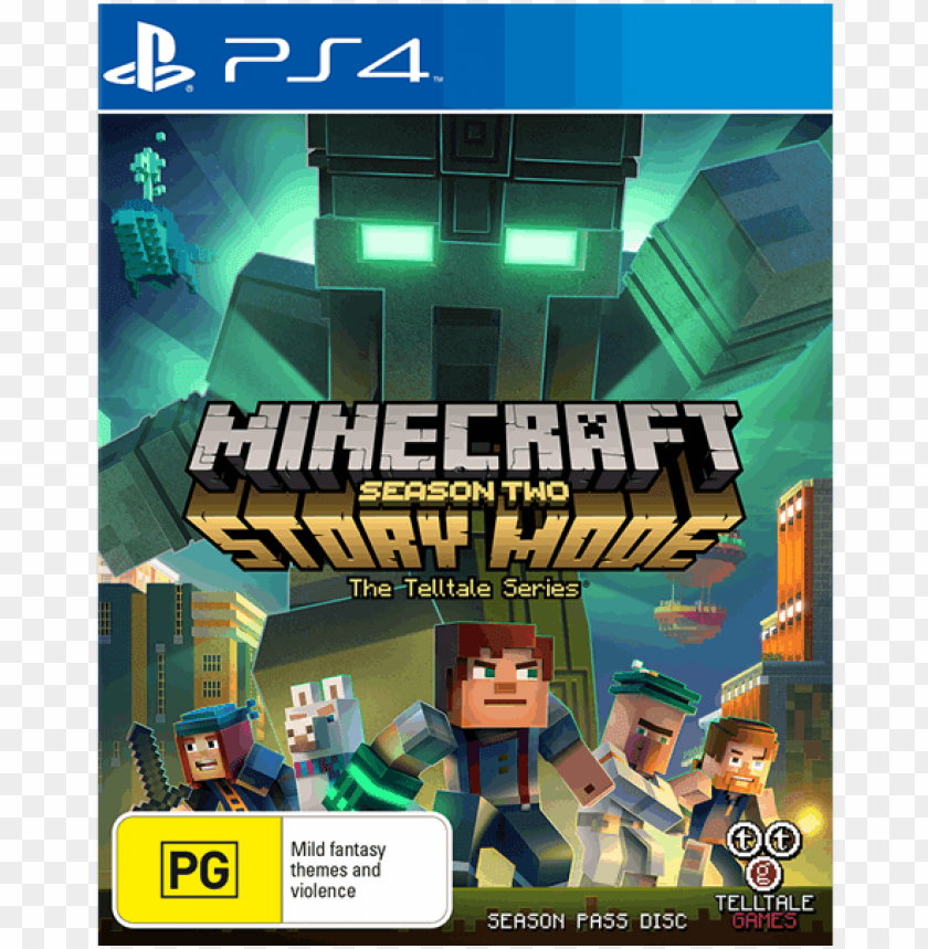 free PNG laystation 2 minecraft - minecraft story mode season 2 ps4 PNG image with transparent background PNG images transparent