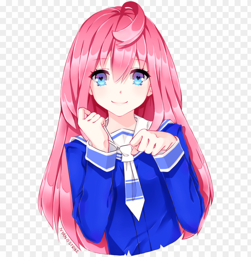 Ldshadowlady Images Ldshadowlady Hd Wallpaper And Background Anime Girl Cute Pink Hair Png Image With Transparent Background Toppng