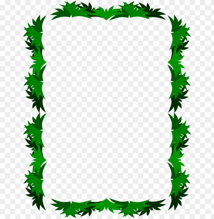 Leaf Frame Image Png Free Png Images Toppng