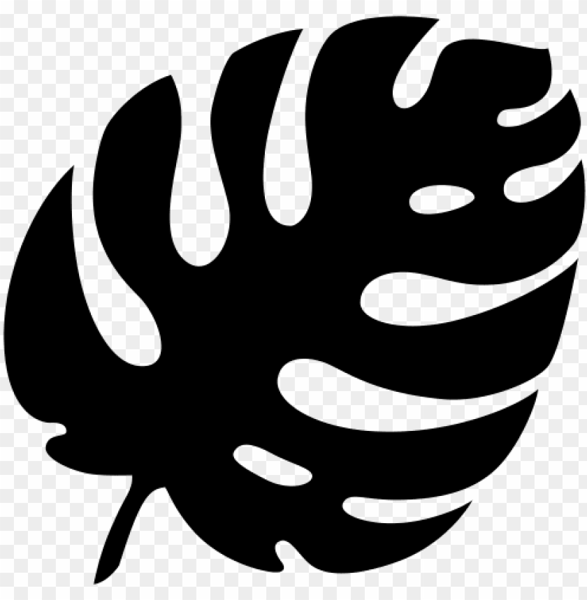 Leaf Silhouette Png Tropical Leaves Clipart Png Image With Transparent Background Toppng 30000 flower clipart black and white free download. leaf silhouette png tropical leaves