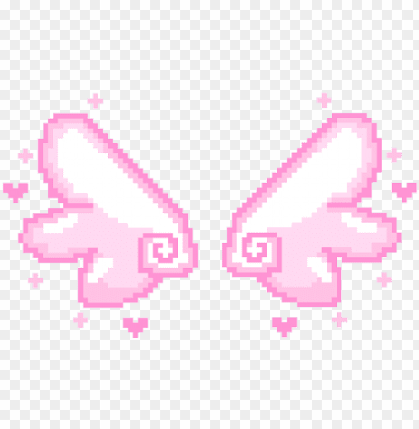 Leafsea Pixel Angel Wings Transparent Png Image With