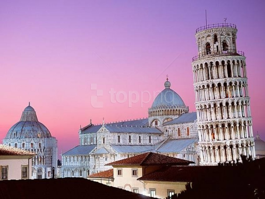 free PNG leaning tower of pisa italy background best stock photos PNG images transparent
