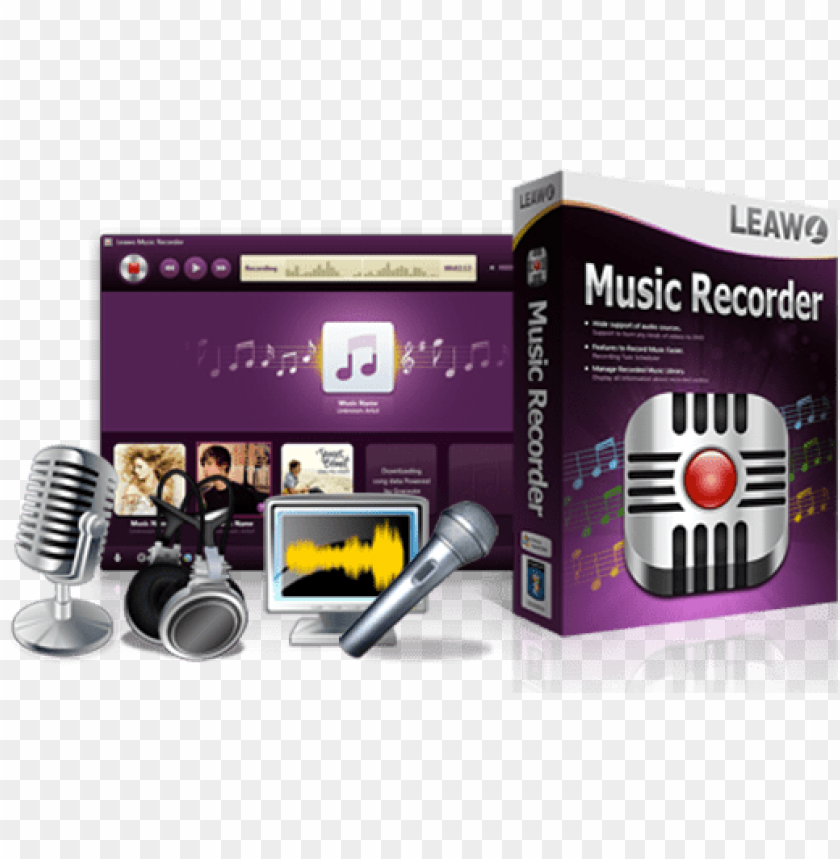 free PNG leawo music recorder for mac,version PNG image with transparent background PNG images transparent