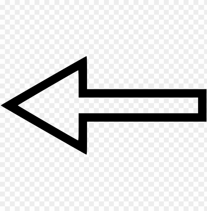 free PNG left arrow comments - transparent background arrow png white PNG image with transparent background PNG images transparent