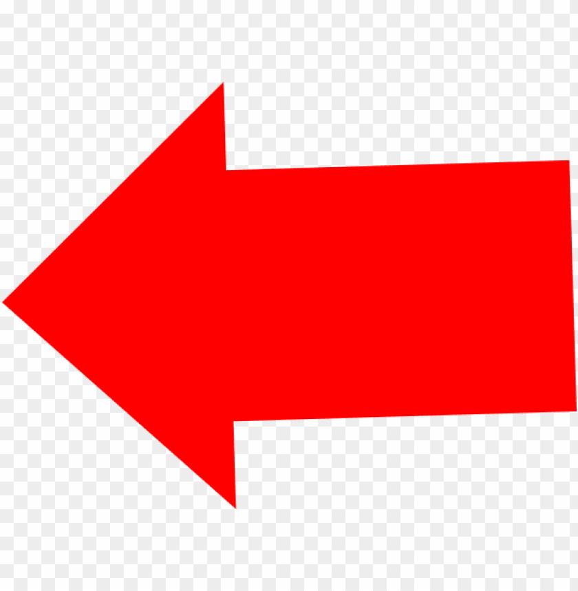 left red arrow transparent background PNG image with transparent background  | TOPpng