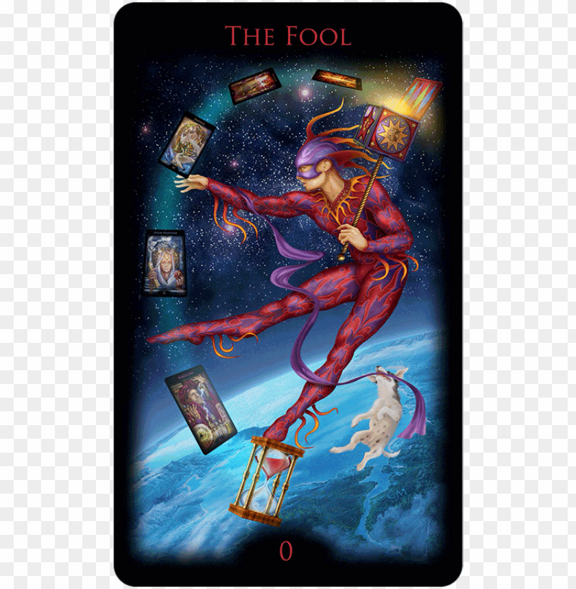 free PNG legacy of the divine tarot the fools dog facebook symbol - legacy tarot PNG image with transparent background PNG images transparent