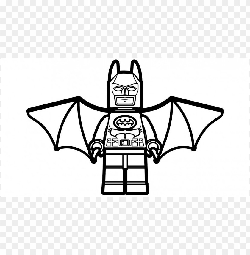 Lego Batman Coloring Pages Color Png Image With Transparent