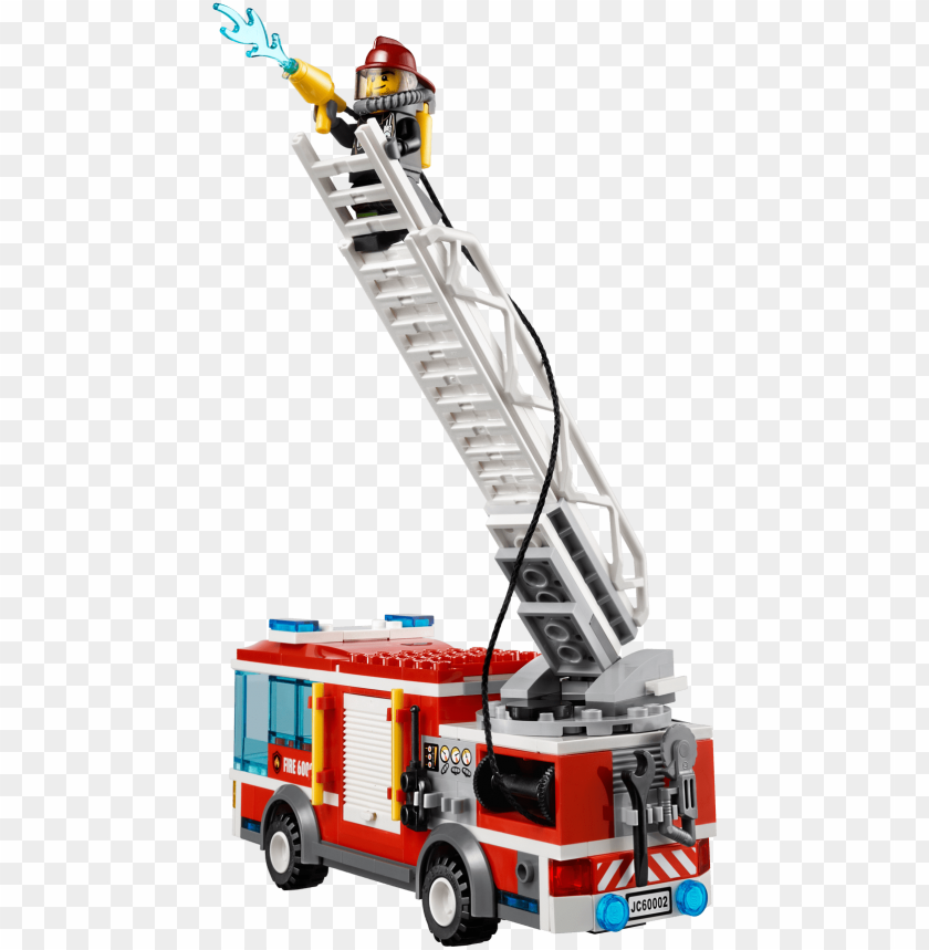 free PNG lego® city fire truck - lego city fire - fire truck PNG image with transparent background PNG images transparent