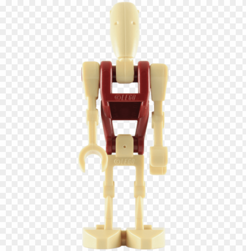 free PNG lego security battle droid minifigure with blaster - lego star wars: red security battle droid minifigure PNG image with transparent background PNG images transparent