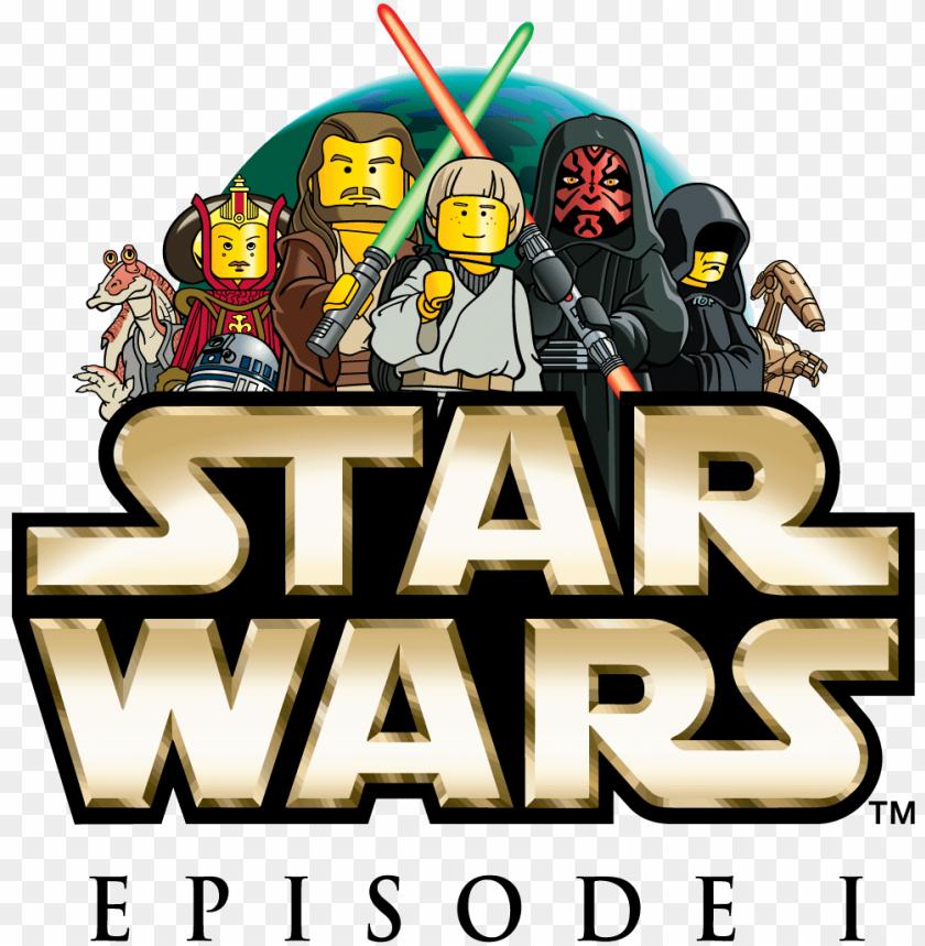 free PNG lego star wars episode 1 logo - star wars PNG image with transparent background PNG images transparent