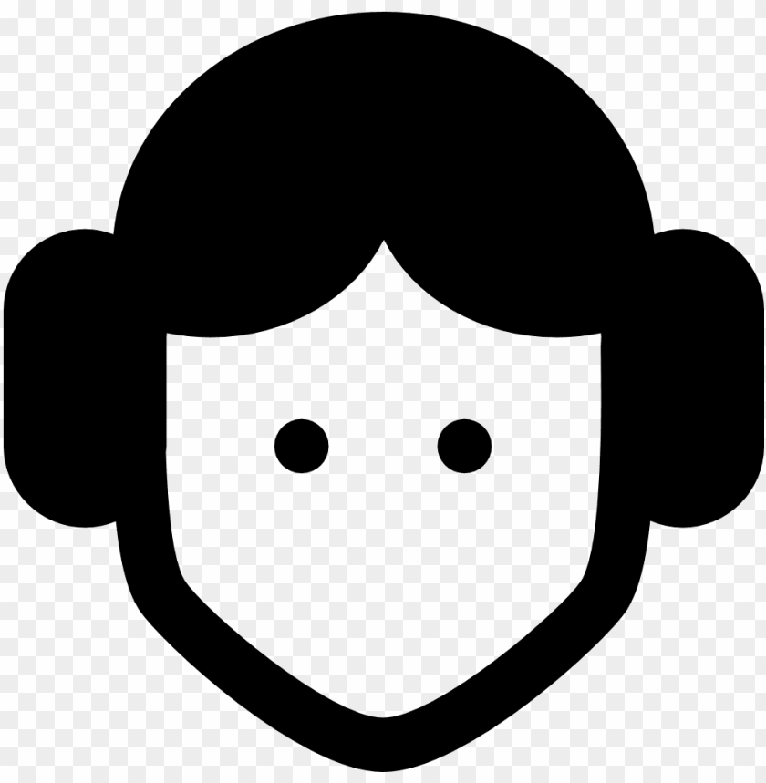 Leia Icon Star Wars Icon Png Free Png Images Toppng
