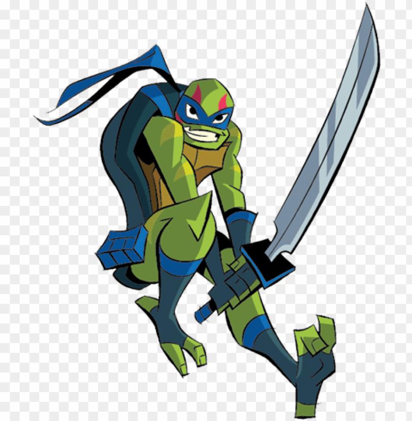 Leonardo Rise Of The Teenage Mutant Ninja Turtles Png Image With