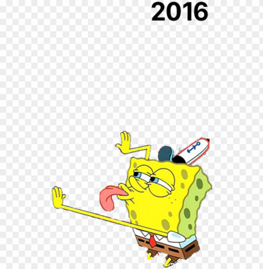 free PNG let spongebob lick your profile picture - spongebob licking transparent background PNG image with transparent background PNG images transparent