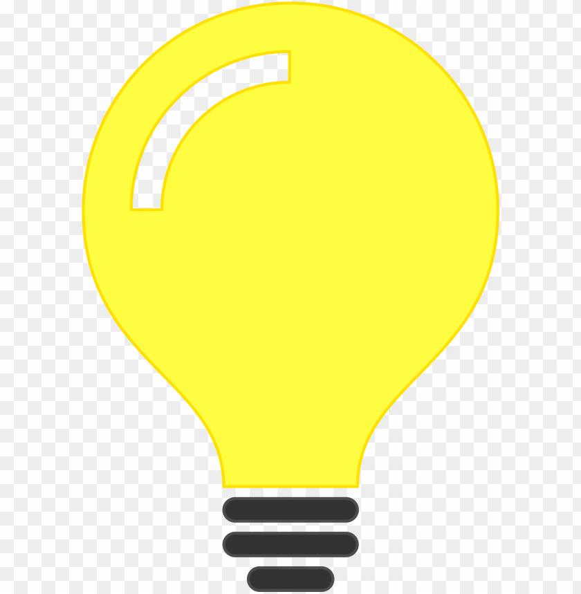 free PNG light bulb idea icon icons  free - minimalist light bulb png - Free PNG Images PNG images transparent