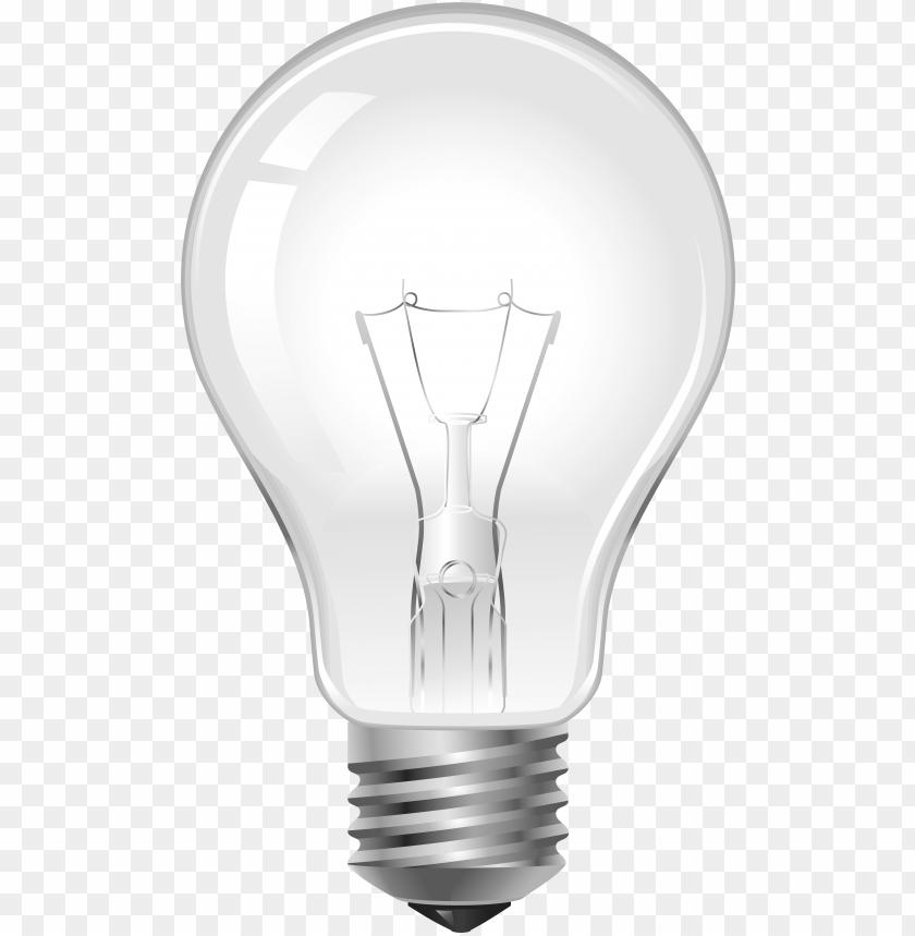 free PNG light bulb png clip art - incandescent light bulb PNG image with transparent background PNG images transparent