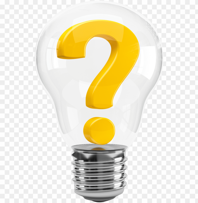 free PNG light bulb with question mark png image - bulb question mark PNG image with transparent background PNG images transparent