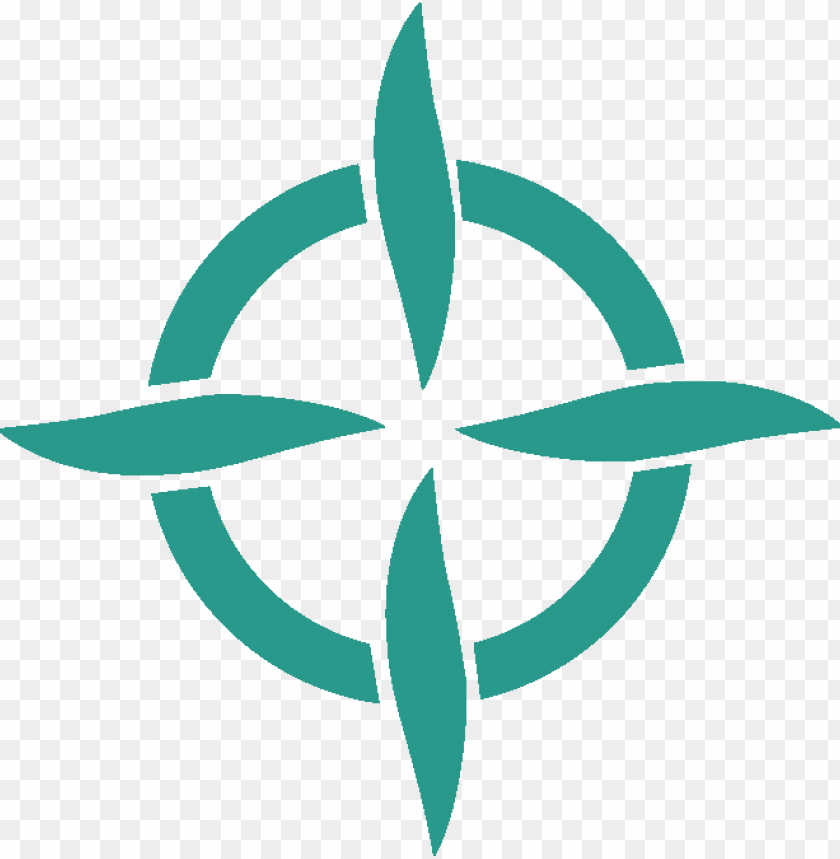 free PNG light green compass logo - crosshair vector PNG image with transparent background PNG images transparent