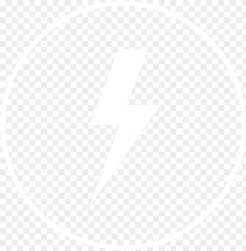 Lightning Icon White Internet Icon Png Image With Transparent Background Toppng