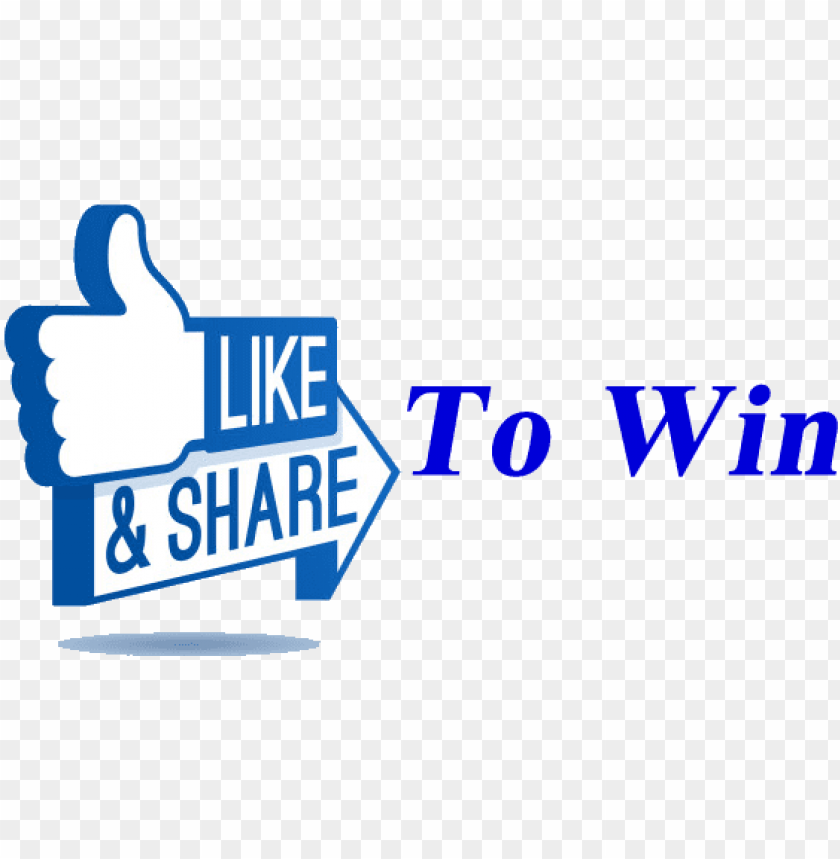free PNG like and share to win - like share win facebook PNG image with transparent background PNG images transparent