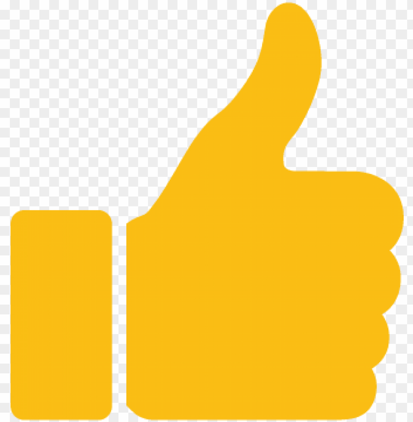 free PNG like yellow icon - like icon  yellow png - Free PNG Images PNG images transparent