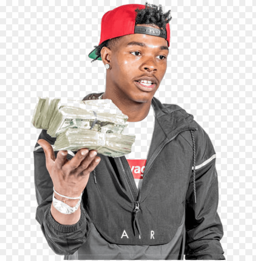 lil baby with money