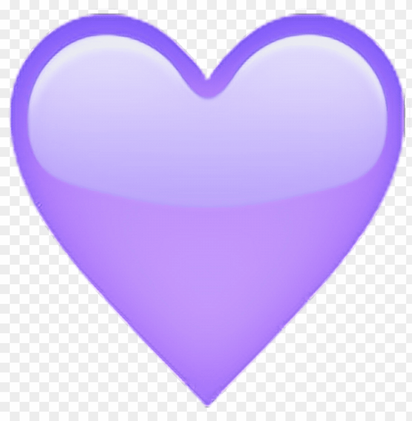 free PNG lilac heart emoji???? - heart PNG image with transparent background PNG images transparent