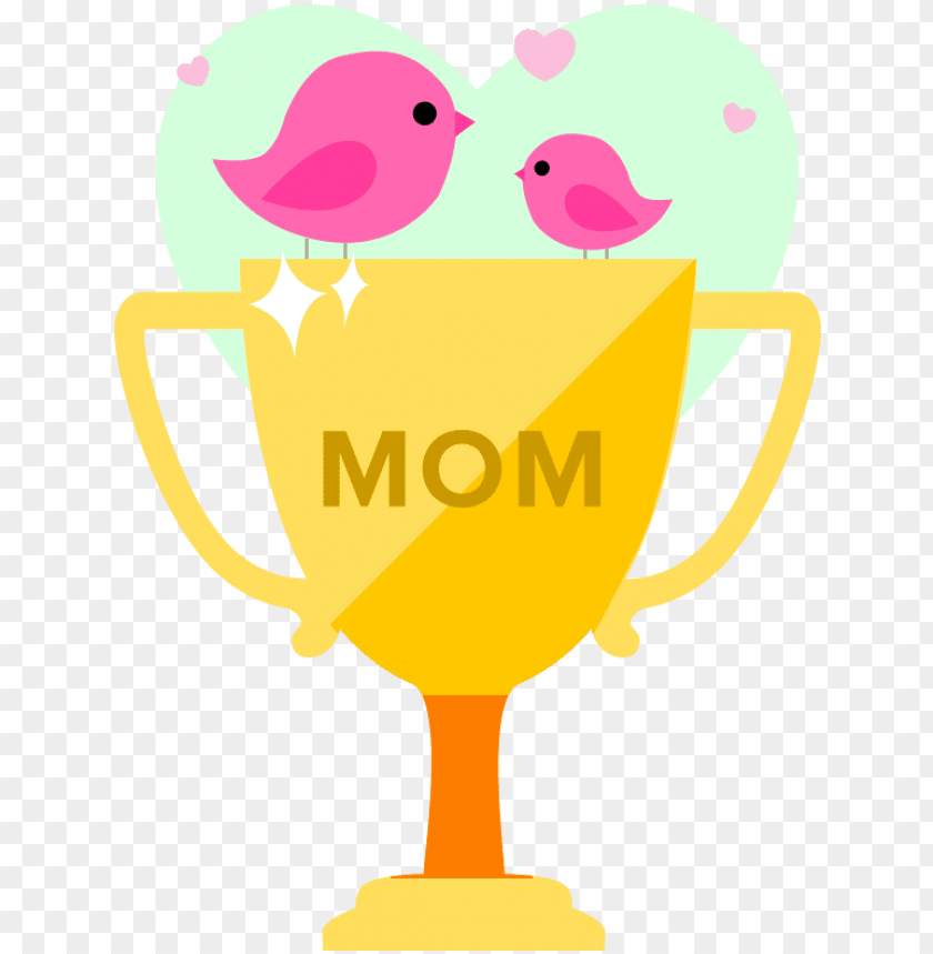 free PNG limited edition mother's day contest trophy - mother's day contest winner PNG image with transparent background PNG images transparent