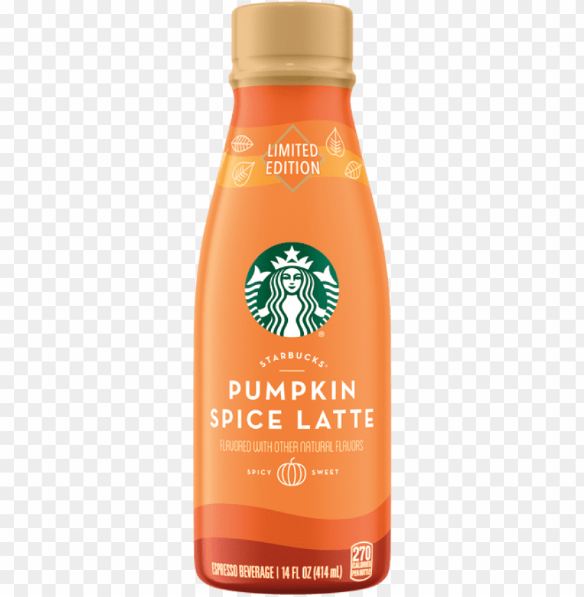 free PNG limited edition starbucks pumpkin spice caffe latte PNG image with transparent background PNG images transparent