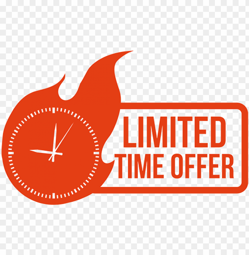 free PNG limited time png vector freeuse library - limited time offer PNG image with transparent background PNG images transparent