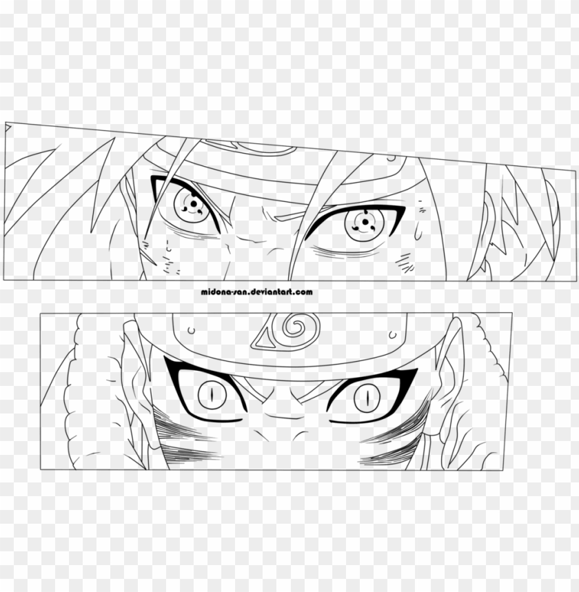 free PNG line art anime eyes png line art anime eyes - anime eye line art PNG image with transparent background PNG images transparent