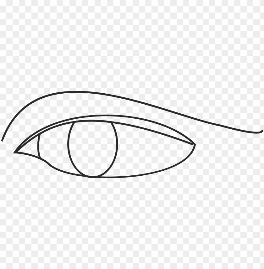 free PNG line drawing of an eye PNG image with transparent background PNG images transparent