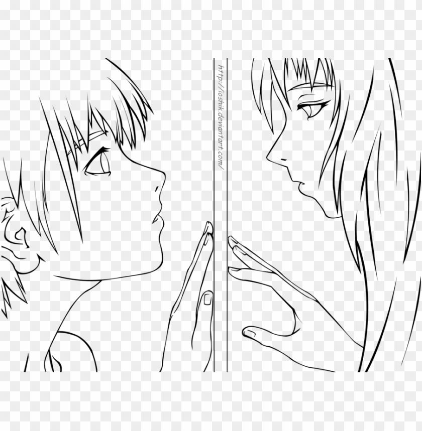 free PNG lineart anime - anime oc lineart PNG image with transparent background PNG images transparent