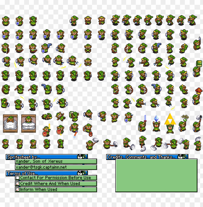 free PNG link to the past link sprites PNG image with transparent background PNG images transparent