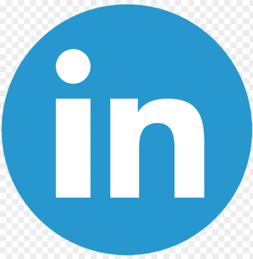 Linkedin Color Icon Linkedin Logo Round Png Image With
